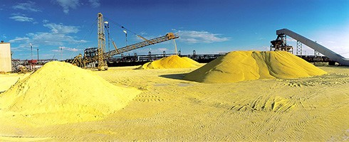 Пески из серы